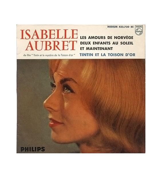 """Isabelle Aubret - Tintin Et La Toison D'Or (4ème Série) (7"""", EP)"""