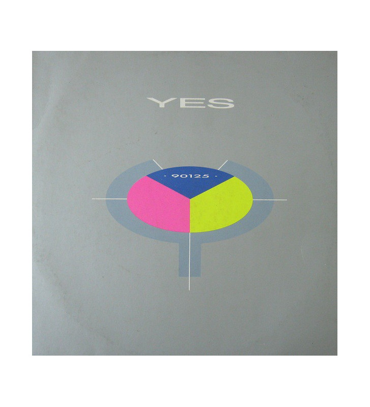 Yes - 90125 (LP, Album) mesvinyles.fr