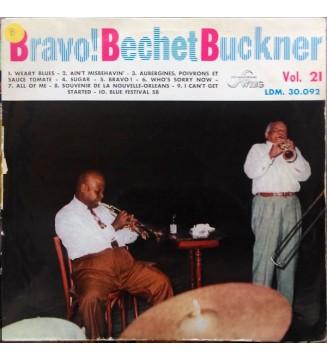 Sidney Bechet, Teddy Buckner - Bravo! Bechet Buckner (LP, Album) mesvinyles.fr