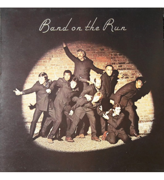 Paul McCartney And Wings* - Band On The Run (LP, Album)