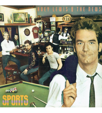 Huey Lewis And The News* - Sports (LP, Album) mesvinyles.fr