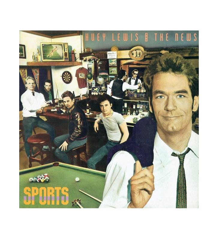Huey Lewis And The News* - Sports (LP, Album) mesvinyles.fr