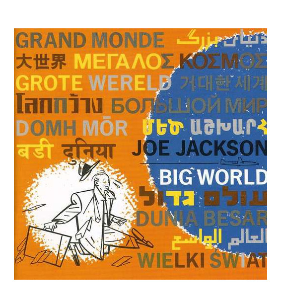 Joe Jackson - Big World (2xLP) mesvinyles.fr