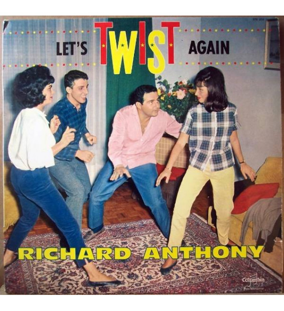 Richard Anthony - Let's Twist Again mesvinyles.fr