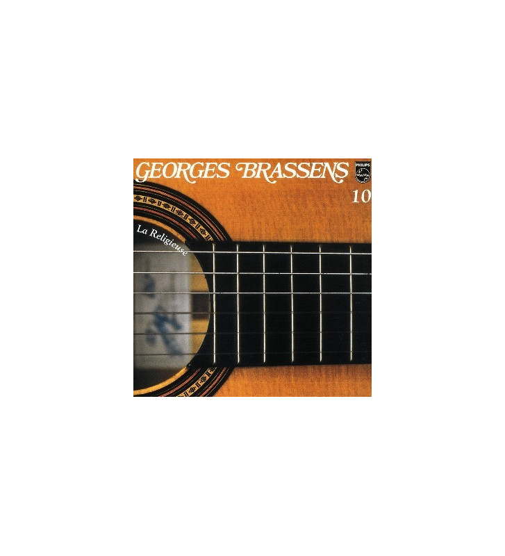 Georges Brassens - N° 10 - La Religieuse (LP, Album) mesvinyles.fr