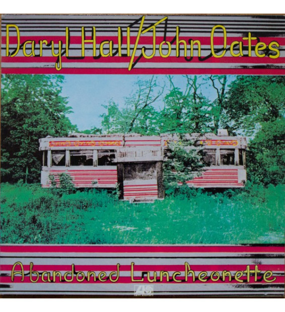 Daryl Hall & John Oates - Abandoned Luncheonette (LP, Album)