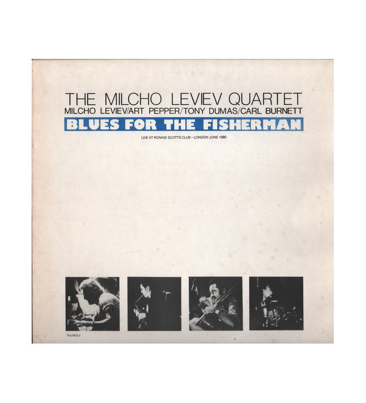 The Milcho Leviev Quartet - Blues For The Fisherman mesvinyles.fr