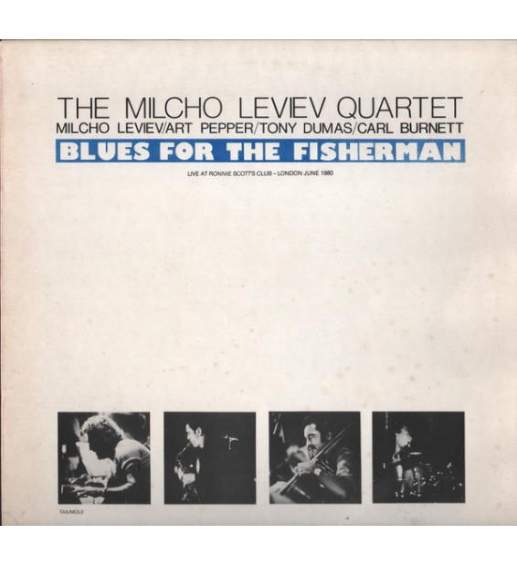 Vinyle - The Milcho Leviev Quartet - Blues For The Fisherman