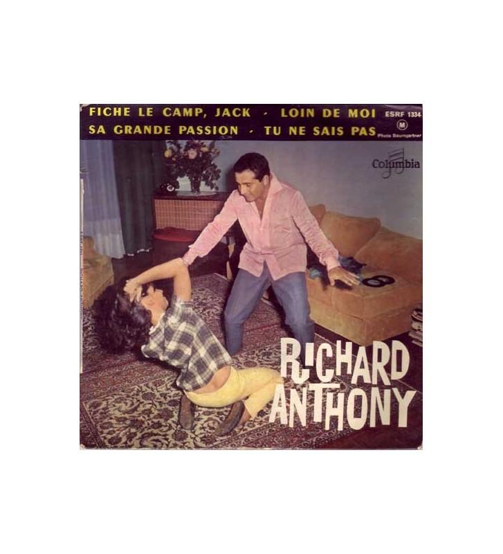 "Richard Anthony (2) - Fiche Le Camp, Jack (7"", EP, Mono) mesvinyles.fr"
