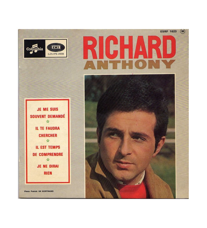"""Richard Anthony (2) - Je Me Suis Souvent Demandé (7"""", EP) mesvinyles.fr"""