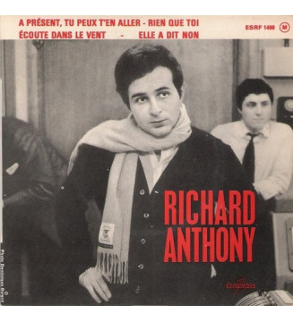 """Richard Anthony (2) - A Présent, Tu Peux T'en Aller (7"""", EP) mesvinyles.fr"""