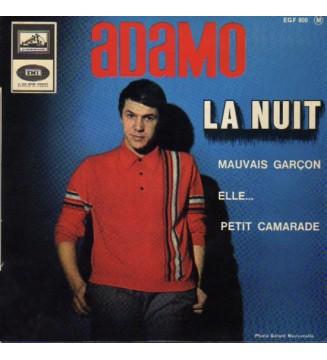 """Adamo - La Nuit (7"""", EP) mesvinyles.fr"""
