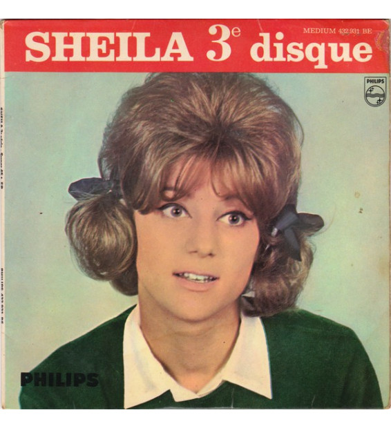"Sheila (5) - Pendant Les Vacances (7"", EP, Mono)"