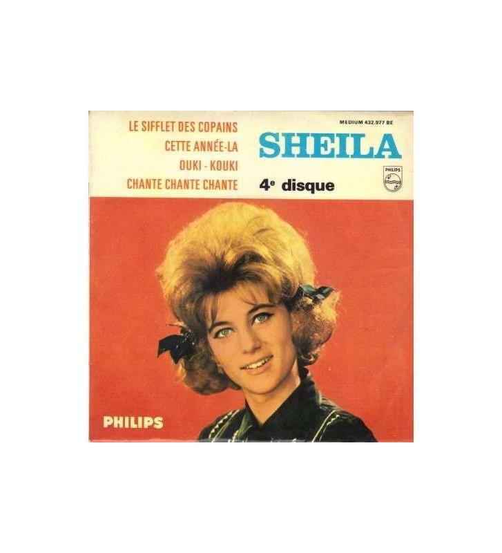 """Sheila (5) - Le Sifflet Des Copains (7"""", EP) mesvinyles.fr"""