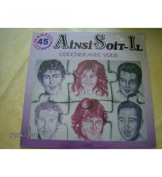 """Ainsi Soit-Il - Coucher Avec Vous (12"""", Maxi) mesvinyles.fr"""