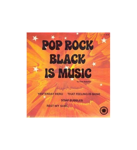 "Don Adams - Pop Rock Black Is Music (7"", EP)"