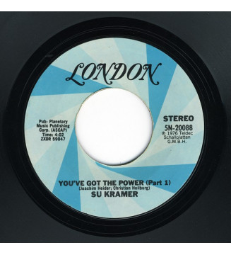 "Su Kramer - You've Got The Power (7"") mesvinyles.fr"