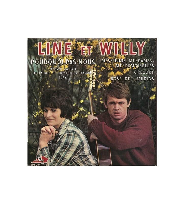 "Line Et Willy - Pourquoi Pas Nous (7"", EP) mesvinyles.fr"