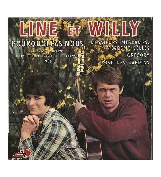 """Line Et Willy - Pourquoi Pas Nous (7"""", EP)"""