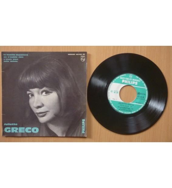 """Juliette Greco* - 12e Série (7"""", EP, Mono)"""