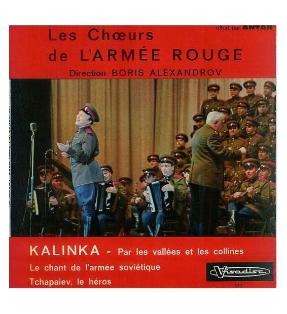 """Les Chœurs De L'Armée Rouge* - Kalinka (7"""", EP)"""