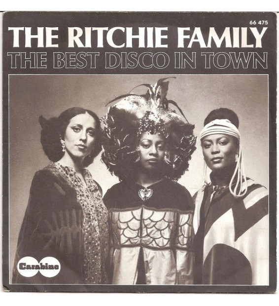 """The Ritchie Family - The Best Disco In Town (7"""", Single, GU)"""