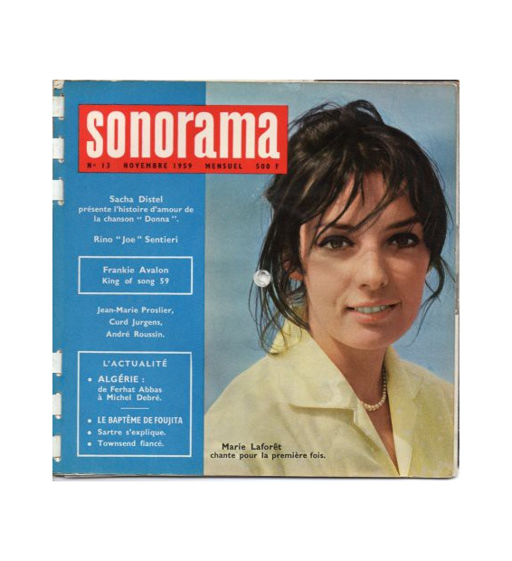 "Various - Sonorama N°13 - Novembre 1959 (6xFlexi, 7"", S/Sided, Whi)"