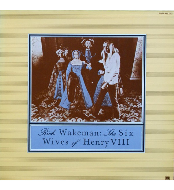 Rick Wakeman - The Six Wives Of Henry VIII (LP, Album, Gat) mesvinyles.fr