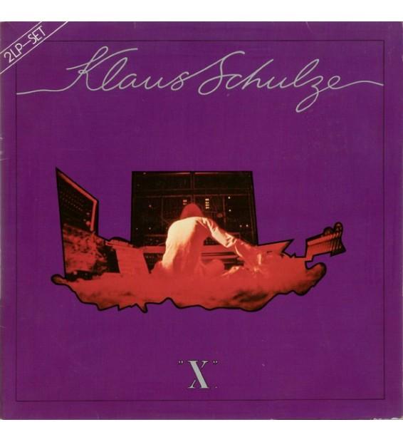 Klaus Schulze - X (2xLP, Album) mesvinyles.fr