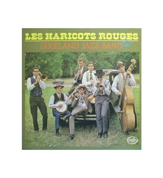 Vinyle - Les Haricots Rouges - Dixieland Jazz Band