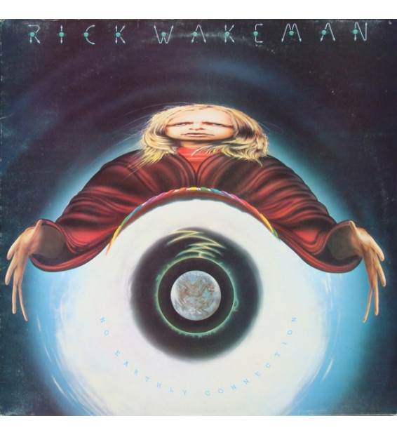 Rick Wakeman And The English Rock Ensemble - No Earthly Connection (LP, Album)