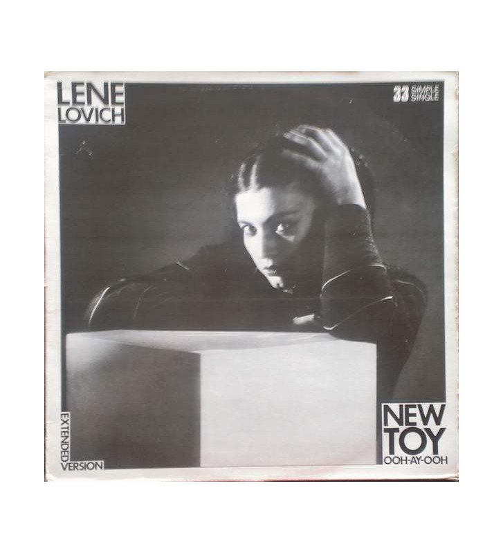 "Lene Lovich - New Toy (12"", Ltd) mesvinyles.fr"