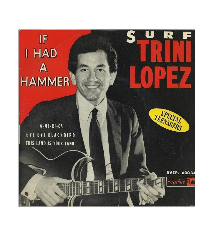 "Trini Lopez - Surf - If I Had A Hammer (7"", EP) mesvinyles.fr"