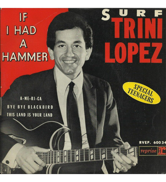 "Trini Lopez - Surf - If I Had A Hammer (7"", EP)"