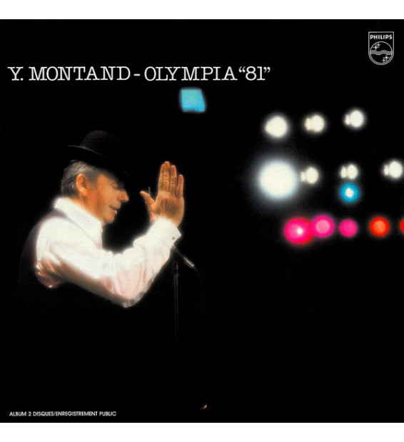 """Yves Montand - Olympia """"81"""" (2xLP, Gat)"""