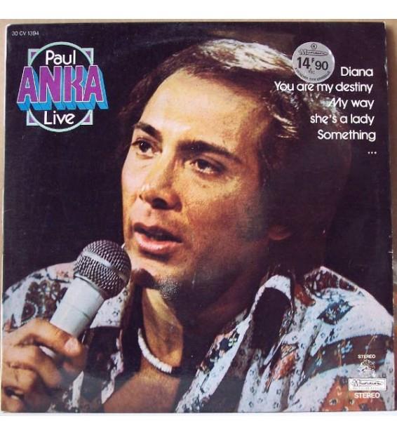 Paul Anka - Live (LP, Album, RE) mesvinyles.fr