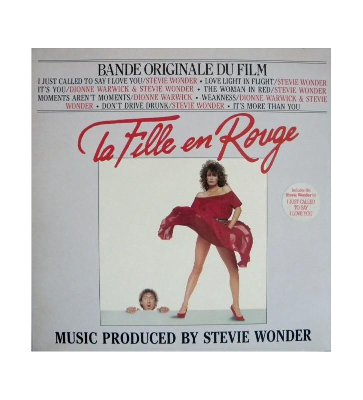 Various - La Fille En Rouge (Bande Originale Du Film) (LP, Album, Gat) mesvinyles.fr