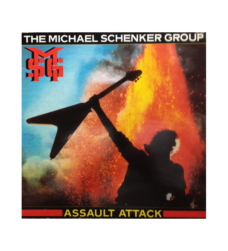 The Michael Schenker Group - Assault Attack (LP, Album) mesvinyles.fr