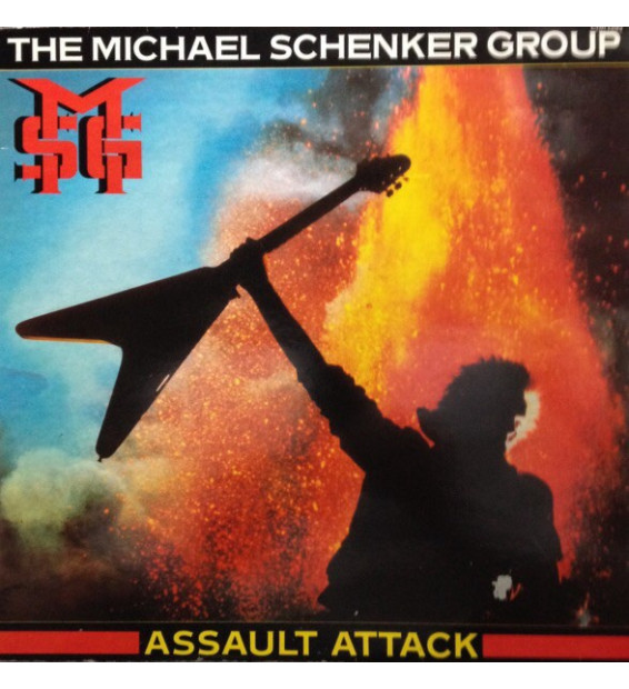 The Michael Schenker Group - Assault Attack (LP, Album)