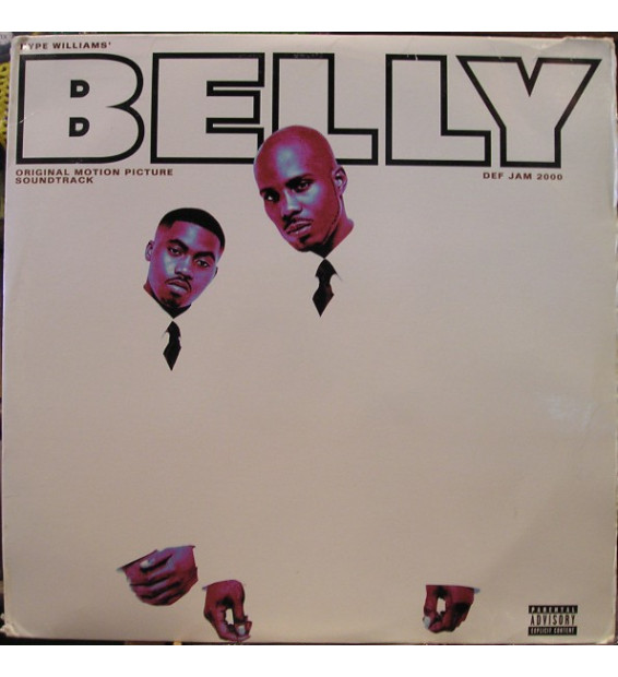 Belly - Original Motion Picture Soundtrack (2xLP, Comp)
