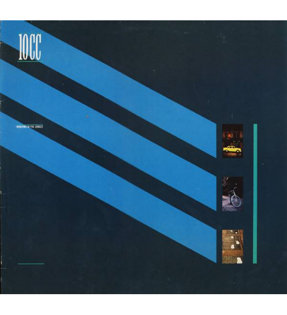 10cc - Windows In The Jungle (LP, Album) mesvinyles.fr