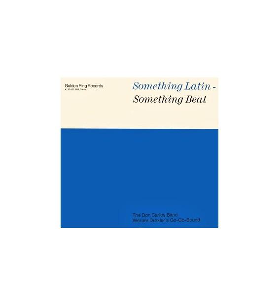 The Don Carlos Band / Werner Drexler's Go-Go-Sound - Something Latin - Something Beat (LP) mesvinyles.fr