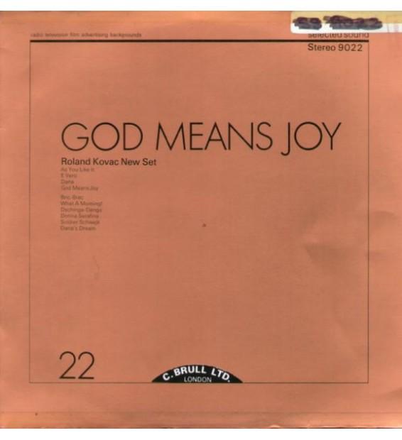 Roland Kovac New Set - God Means Joy (LP) mesvinyles.fr
