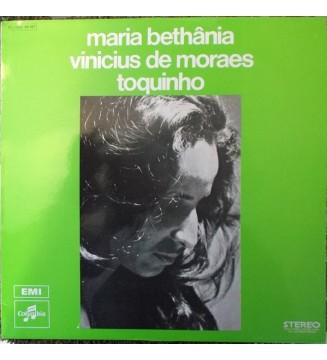 MARIA BETHANIA / VINICIUS DE MORAES / TOQUINHO - Vinicius+Bethania+Toquinho mesvinyles.fr