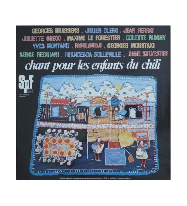 Chant Pour Les Enfants Du Chili (LP, Comp) mesvinyles.fr
