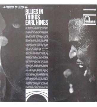 Earl Hines - Blues In Thirds (LP, Album) mesvinyles.fr