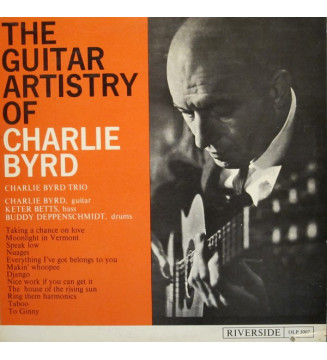 Charlie Byrd Trio - The Guitar Artistry Of Charlie Byrd (LP, Mono) mesvinyles.fr
