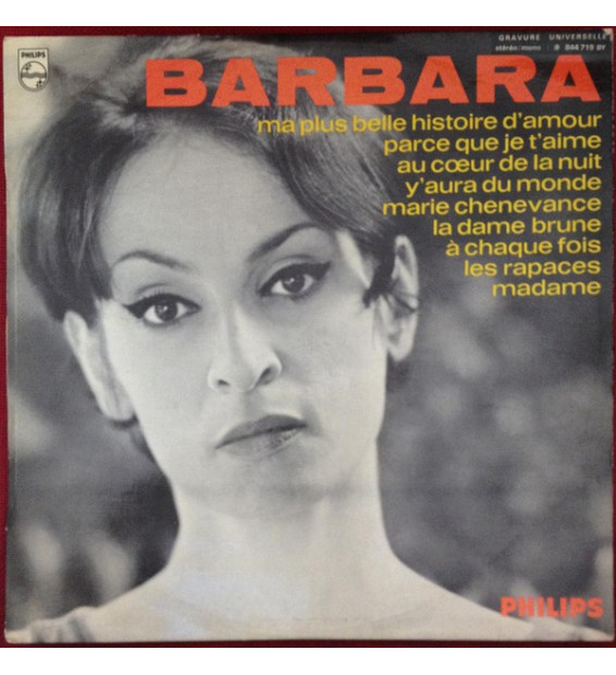 Barbara (5) - Barbara (LP, Album)