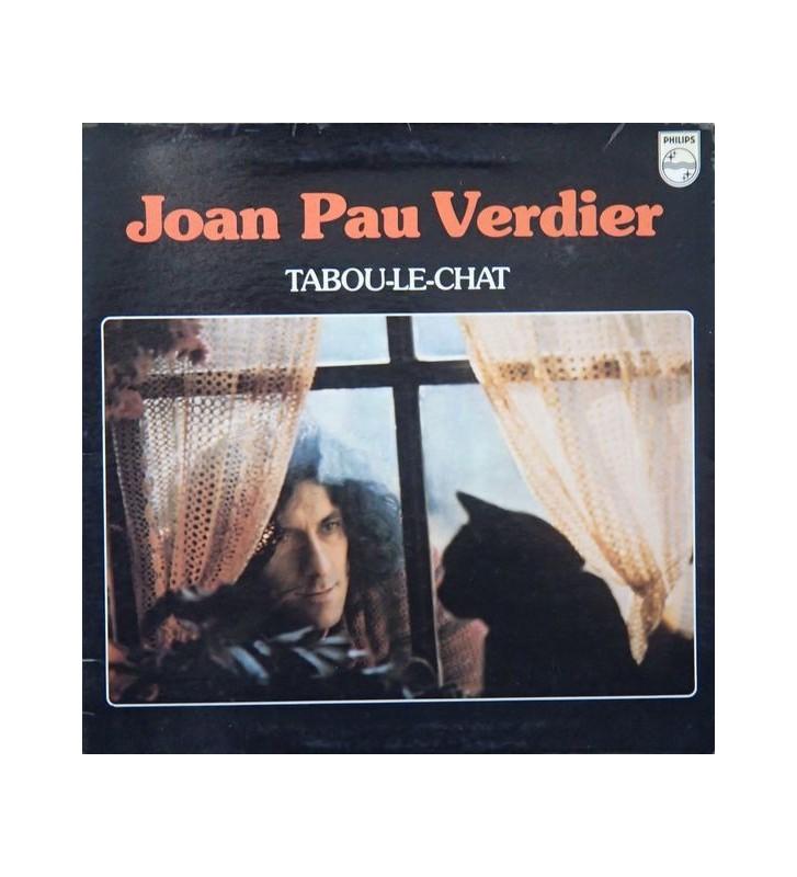 Joan Pau Verdier - Tabou Le Chat (LP, Album) mesvinyles.fr