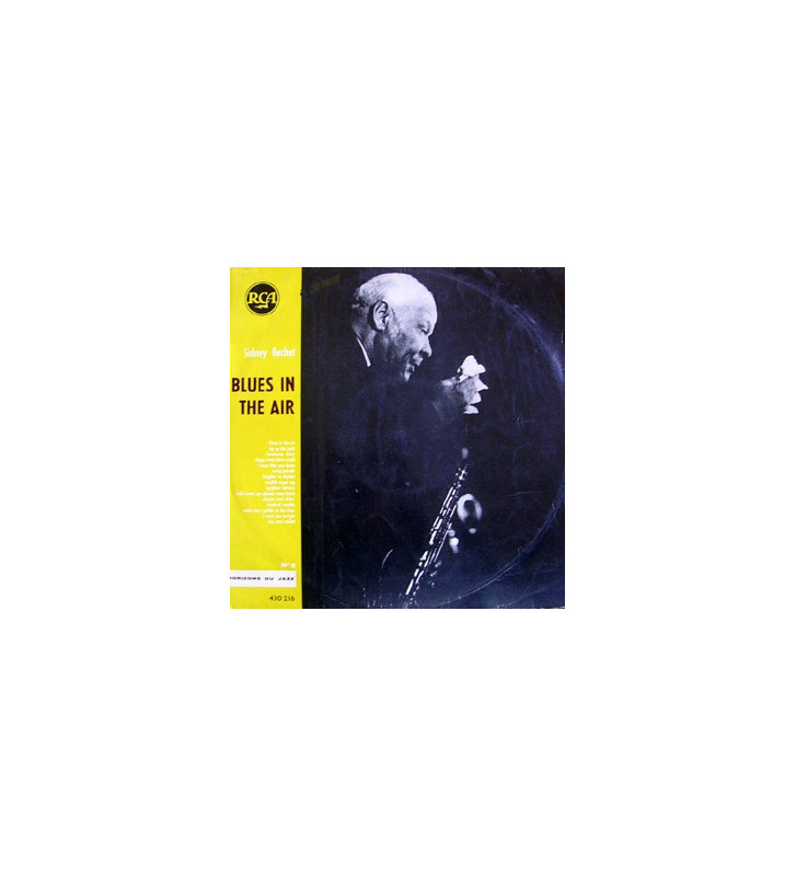 Sidney Bechet - Blues In The Air (LP, Album) mesvinyles.fr